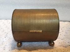 ANTIQUE State Express Brass Cigarette Box- NICE- # 663