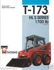 Equipment Brochure - Thomas - T-173 HL S series - Skid Steer - 1994 (E2354)