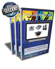 Ultimate Live Sound School Training DVD Box Set (Great for Church Audio Teams)