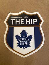 Toronto Maple Leaf  / Tragically Hip Crest Mashup Vinyl Decal Sticker Downie 4in