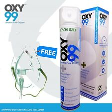 Oxy99 Portable Oxygen Cylinder FAST SHIPPING with OXYgen Mask