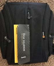 "BRAND NEW Booq Boa Squeeze Nylon Backpack For 15"" Mac or PC - Graphite"
