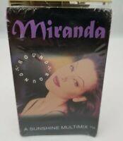 Miranda Cassette Tape Single Round & Round / Freestyle Mix Electronic 1994 NEW