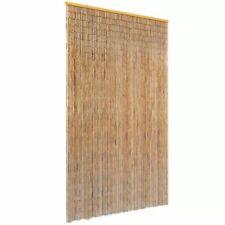 vidaXL Vliegengordijn 120x220 cm Bamboe Deurgordijn Gordijn Horgordijn Gordijn