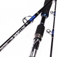 Boat Jigging Fishing Rod 2.1M 3 Sections Carbon Fiber Saltwater Spinning Lure