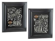 Harley-Davidson Destination Mirror Set - Black, 10.75 x 12.5 inches HDL-15231