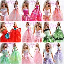 Packen: Neu 10 Barbie Hochzeit Puppe Kleidung Dress Kleider
