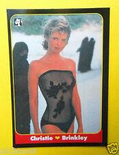 figurines chromos figurine masters cards 45 christie brinkley 1993 model moda gq