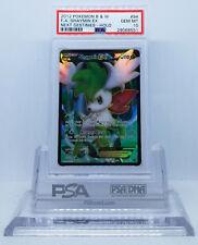 Pokemon NEXT DESTINIES SHAYMIN LV X #94 FULL ART HOLO FOIL PSA 10 GEM MINT #*
