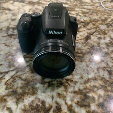 Nikon Coolpix P900 16mp Digital Camera W 83x Optical Zoom Wi-fi Black 16gb Kit