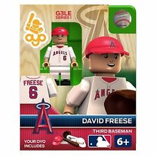 David Freese MLB Los Angeles Angels Oyo G3S1 Minifigure NEW Toys Baseball