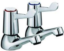 Bristan ® Lever Basin Taps with Ceramic Disc Valves Chrome