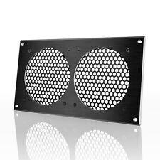 "AC Infinity Ventilation Grill 12"", PC Electronic AV Cabinets, mounts 120mm Fans"
