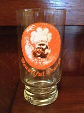 Hawaiian jolly miller cola glasses set of 6 Vintage