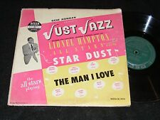 10 inch 1951 Jazz LP JUST JAZZ Lionel Hampton with the GENE NORMAN All Stars 47