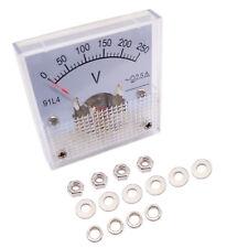 Us Stock Ac 0250v Square Analog Volt Pointer Needle Panel Meter Voltmeter 91l4