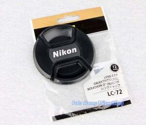 Nikon LC-72 Objektivdeckel 72mm Original Neu + Rechnung