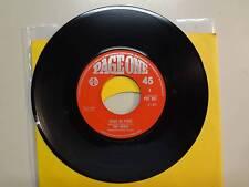 """NERVE:w/Reg Presley-Piece By Piece-Satisfying Kind-U.K. 7"""" 1968 Page One POF 097"""