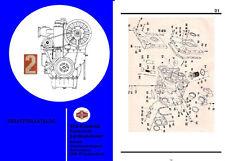 T 174 T174 T159 T 159 Ersatzteilliste katalog DDR VEB IFA 2 VD 14,5/ 12-1 SRL
