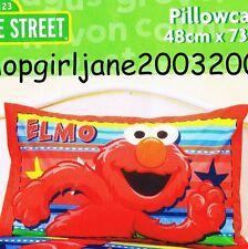 Elmo Sesame Street - Stars & Stripes - Polyester/Cotton pillowcase