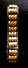 hübsches antikes 835er Silber vergoldetes Armband