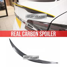 Real Carbon Fiber Rear Trunk Lip Spoiler R TYPE For TESLA 2012-2016 MODEL S