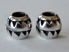 AUTHENTIC TROLLBEADS Aztec Bead TAGBE-10108 Silver RETIRED (ONE BEAD) NEW!