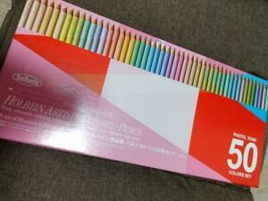 Holbein Artist Colored Pencils Pastel Tone Set 50 Colors