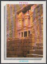 Jordanien Jordan used Post Card Postkarte Bauwerk building Petra [cm630]