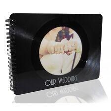 Hochzeitsalbum / Photoalbum - Upcycling aus  echter (used) Vinyl-Schallplatte