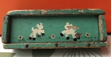 Vintage Deer Paint Brush Pencil Case Box Fawn Kitsch Bambi 40s 50s 60s Retro