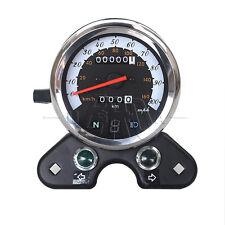 Motorcycle Odometer Speedometer Tachometer Meter km/h For GN125 CB EN Cafe Racer