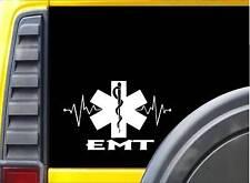 EMT Lifeline K338 8 inch decal star of life emt sticker