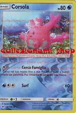 CORSOLA - REVERSE FOIL 36/149 - SOLE E LUNA - POKEMON - ITALIANO