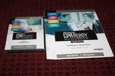 Brand New Bisk CPA Auditing & Attestation Intensive DVD & Viewer Guide