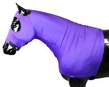 Sleazy Sleepwear for Horses Genuine Stretch Hood Purple XL with full Zipper