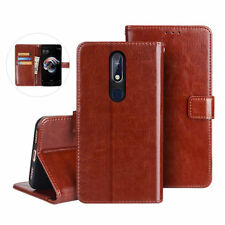 For Nokia 1 2 3 6 6.1 7.1 Plus 2.3 3.2 Magnetic Flip Leather Wallet Case Cover