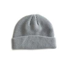 Men Knitted Hat Skullcap Sailor Cap Cuff Brimless Retro Navy Style Beanie Hat