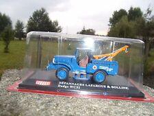 n° 12 DODGE WC 52 Camion Dépanneuse LAFARGUE 1/43 HORS SERIE GARAGE Neuf boite