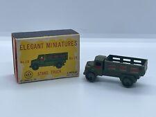 "Vintage 1950's Linemar Marx ""Elegant Miniatures"" # 19 Stake Truck Japan Antique"