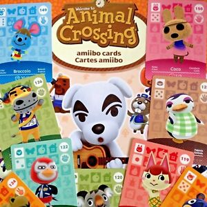 Animal Crossing Series 2 Amiibo Cards Pick your Own 101-200 - Nintendo Switch