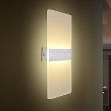3/12w LED Aplique de pared lámpara Pasillo diseño Acrílicos Cálido /