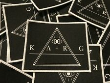 Karg - Logo Patch (Ellende, Harakiri for the sky, Anomalie, Firtan, Alcest)