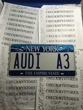 # AUDI A3 CAR PLATE 5 YEARS OLD  EXCELLENT CONDITION ONE(1)