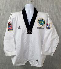 Adidas White/Black Korea Taekwondo Outfit Size 3