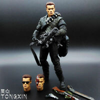 NECA TERMINATOR 2 JUDGMENT DAY T-800 ACTION FIGURE BOX PACKED