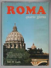 I. DE TUDDO-ROMA QUARTO GIORNO DISEGNI A. ARTIOLI LIBRERIA FRATTINA 1967-L3297
