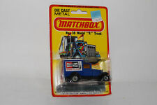 MATCHBOX SUPERFAST #38 FORD MODEL A DELIVERY TRUCK, CHAMPION SPARK PLUGS