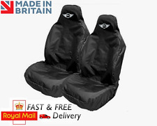 MINI CAR SEAT COVERS PROTECTORS SPORTS BUCKET HEAVYWEIGHT - COOPER S