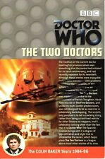 More details for doctor who: the two doctors dvd insert signed (various autograph options)